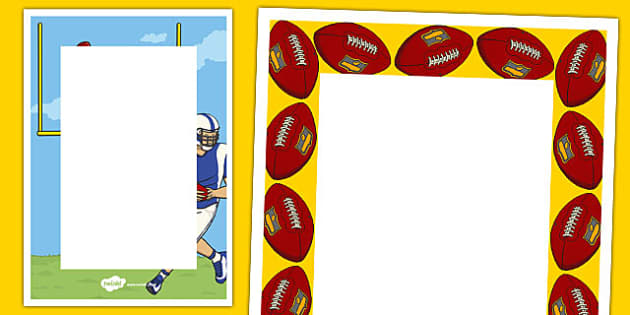 NFL Themed Editable Notes - usa, nfl, national football league, football, american football, editable note, edit, note