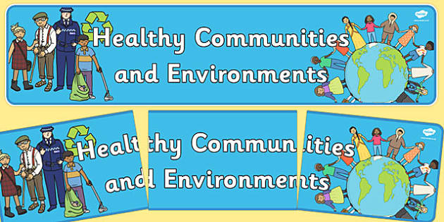 Healthy Communities and Environments Display Banner NZ - nz, new zealand, healthy, banner
