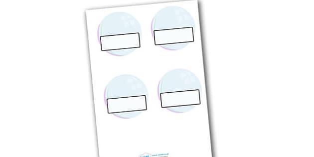 Editable Display Bubbles - Bubble, water area, Editable Labels, KS1 Labels, Foundation Labels, Foundation Stage Labels, Teaching Labels, Resource Labels, Tray Labels, Printable labels, drop, droplet, water play, water, water display, splash, drop, dr