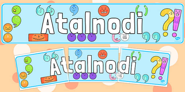 Atalnodi Welsh - display, banners, displays, poster