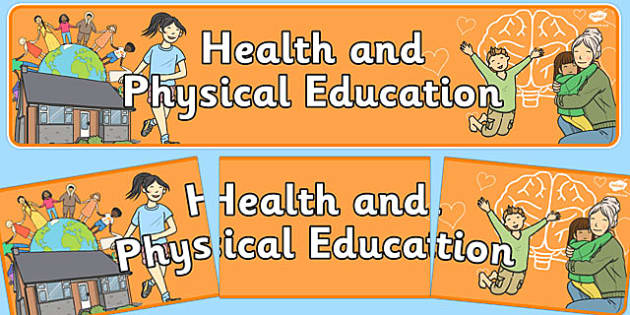 Health and Physical Education Display Banner NZ - nz, new zealand, display, banner