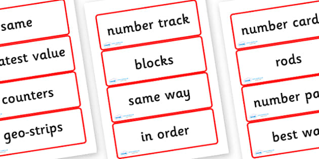Year Three Numeracy Vocabulary Word Cards - General - word cards, numeracy word cards, numeracy vocabulary, word flash cards, flash cards, key words, maths