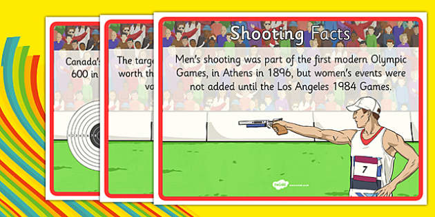 The Olympics Shooting Display Facts - the olympics, rio olympics, 2016 olympics, rio 2016, shooting, display facts