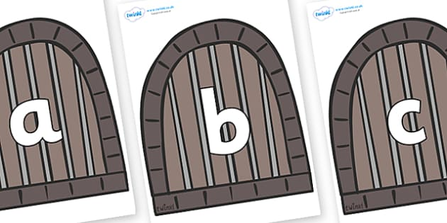 Phoneme Set on Jail Cells - Phoneme set, phonemes, phoneme, Letters and Sounds, DfES, display, Phase 1, Phase 2, Phase 3, Phase 5, Foundation, Literacy