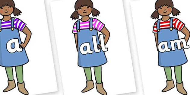 Foundation Stage 2 Keywords on Enormous Turnip Girl - FS2, CLL, keywords, Communication language and literacy,  Display, Key words, high frequency words, foundation stage literacy, DfES Letters and Sounds, Letters and Sounds, spelling
