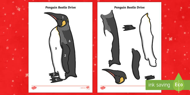 Penguin Beetle Drive Game