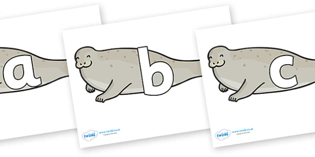 Phoneme Set on Seals - Phoneme set, phonemes, phoneme, Letters and Sounds, DfES, display, Phase 1, Phase 2, Phase 3, Phase 5, Foundation, Literacy