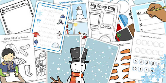 Parents Snow Activity Pack - parents, snow, activity pack, pack