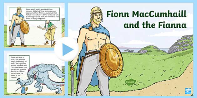 Fionn MacCumhaill and the Fianna - Irish Myths and Legends PowerPoint