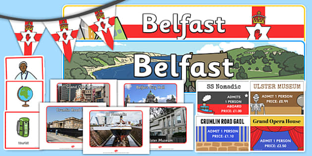 Belfast Tourist Role Play Pack - belfast, tourist, roleplay