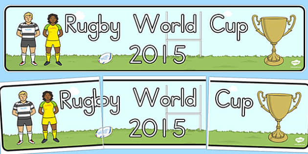 Rugby World Cup 2015 Display Banner - australia, rugby, world cup