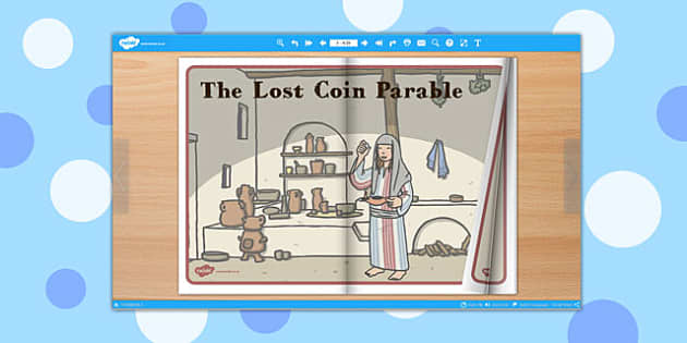The Lost Coin Parable eBook - parable, ebook, lost coin, eBook