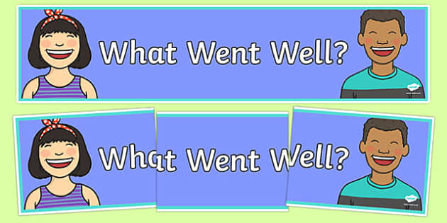 What Went Well Display Banner-Australia
