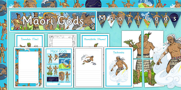Maori Gods Display Pack - nz, new zealand, maori gods, display pack