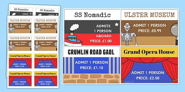 Belfast Tourist Attraction Role Play Tickets - belfast, tourist
