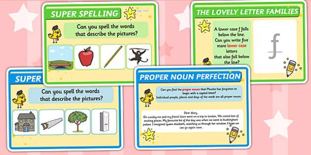 Literacy Challenge Cards - literacy, challenge, cards, challenge cards, literacy cards, literacy challenge cards, literacy challenge