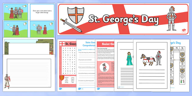 Top 10 St George's Day Pack - top ten, resources, top ten resources, top 10, st georges day, pack