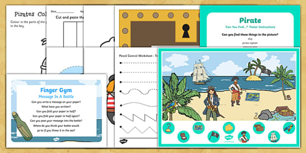 Pirate-Themed Quiet Time Box
