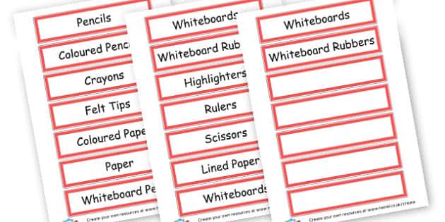 Drawer Labels - Drawer & Peg Name Labels Primary Resources, Name Label, Label, Peg