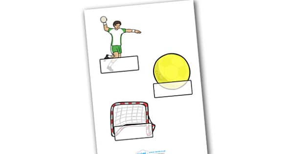 The Olympics Handball Self Registration - Handball, Olympics, Olympic Games, sports, Olympic, London, 2012, Self registration, register, editable, labels, registration, child name label, printable labels, activity, Olympic torch, events, flag, countr