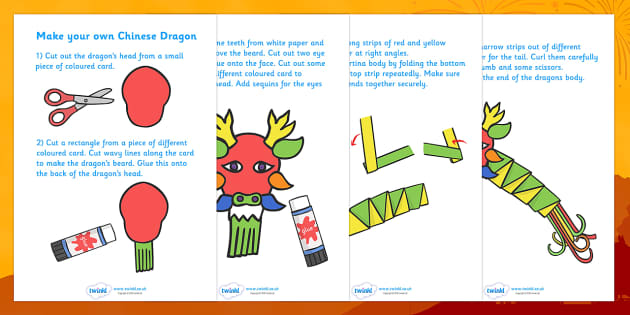 Make Your Own Chinese Dragon - chinese, dragon, craft, make