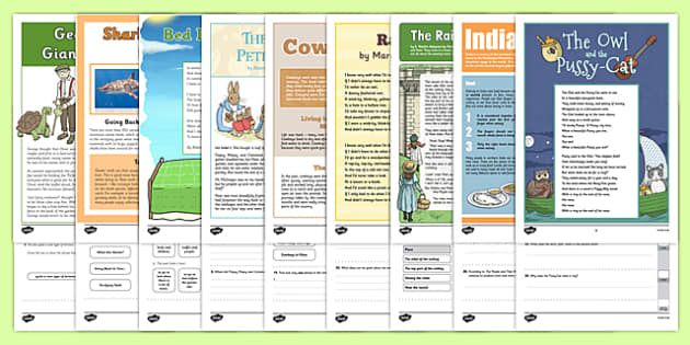 Year 3 Reading Assessments Pack - year 3, reading assessment, pack, reading, assessment