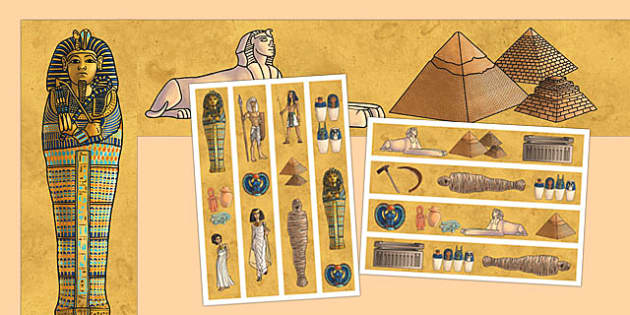 Ancient Egypt Display Borders - ancient egypt, display borders, display, borders