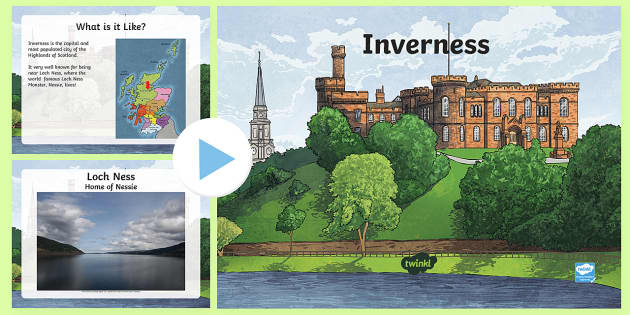 Inverness Information PowerPoint-Scottish - CfE Social Studies resources, Inverness, City of Inverness, Scottish Highlands, Scottish Cities, Inv