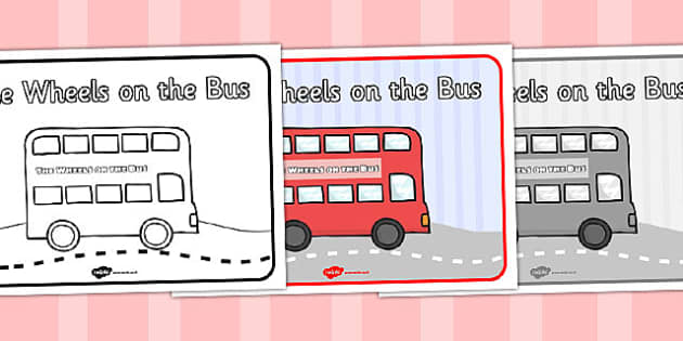 The Wheels on the Bus Sequencing (A4) - The Wheels on the Bus, nursery rhyme, sequencing, rhyme, rhyming, nursery rhyme story, nursery rhymes, transport, bus, Wheels on the Bus resources, wheels onthe bus