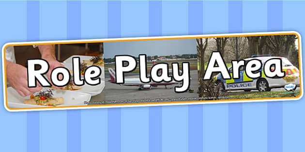 Role Play Area Photo Display Banner - role play area, display, photo banner, banner, display banner, display header, themed banner, photo display, roleplay