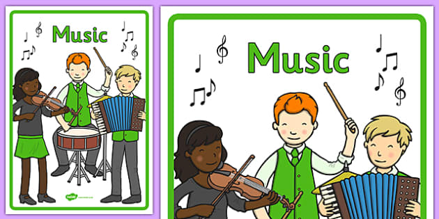 Australian Curriculum Music Book Cover - book cover, front page, title page, subject. Australian Curriculum, labels, music