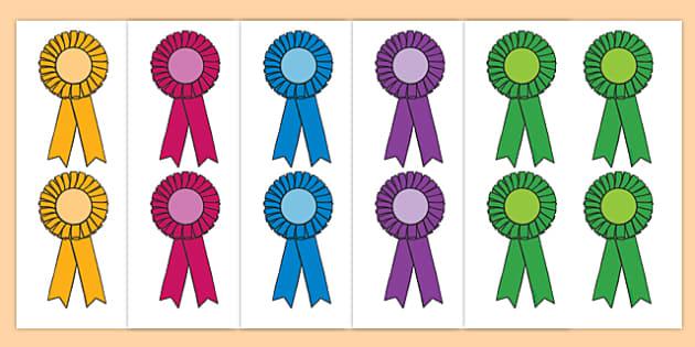 Editable Award Rosettes - Reward, rosette, plaque, medal, rewards, school reward, medal, good behaviour, award, good listener, good writing, good reading