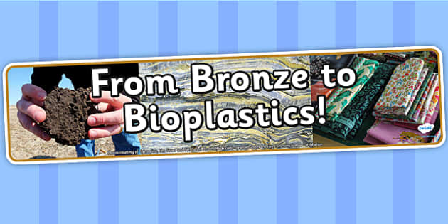 From Bronze to Bioplastics IPC Photo Display Banner - IPC, banner