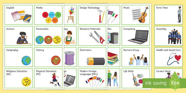 Secondary Subject Key Words - transition, independence, change, ks2, ks3, primary, secondary, new school, new starters, progression