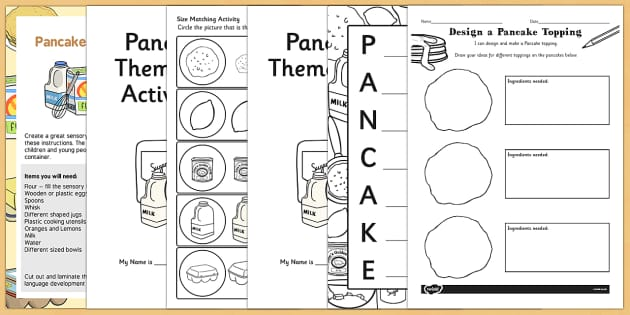 Top 10 Pancake Day Resource Pack - top ten, pancake day, resource pack, shrove tuesday