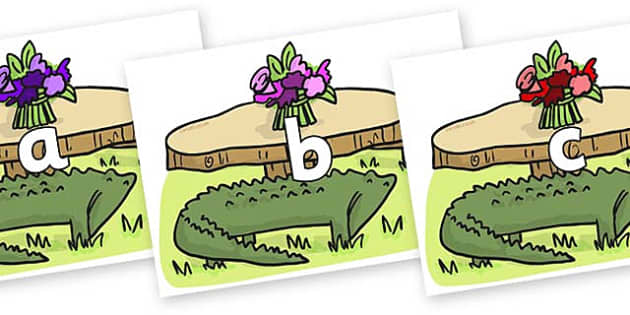 Phase 2 Phonemes on Trick Four to Support Teaching on The Enormous Crocodile - Phonemes, phoneme, Phase 2, Phase two, Foundation, Literacy, Letters and Sounds, DfES, display