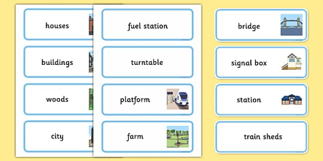 Train Track Discussion Cards - eyfs, train track, discussion, cards