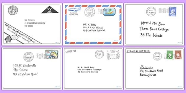 Letter Pack to Support Teaching on The Jolly Postman - the jolly postman, letter pack, letters, the jolly postman letters, the jolly postman activites, the jolly postman games