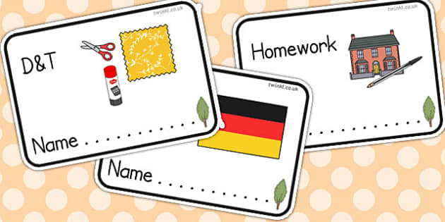 Poplar Tree Themed Editable Book Labels - Themed Book label, label, subject labels, exercise book, workbook labels, textbook labels
