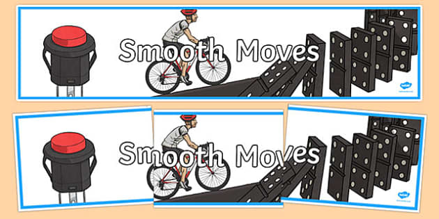 Smooth Moves Display Banner - australia, Australian Curriculum, Smooth Moves, science, year 4, banner, wall display
