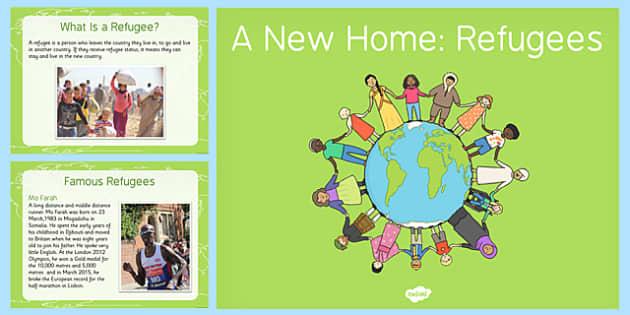 A New Home: Refugees PowerPoint - refugees, powerpoint, home, syria