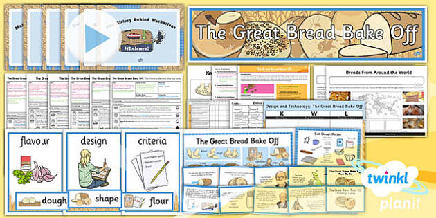 PlanIt - D&T KS2 - The Great Bread Bake Off Unit Pack
