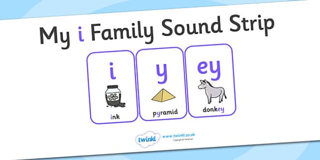 My i Family Sound Strip - family sound strip, sound strip, my family sound strip, my i sound strip, i sound strip, i family sound strip