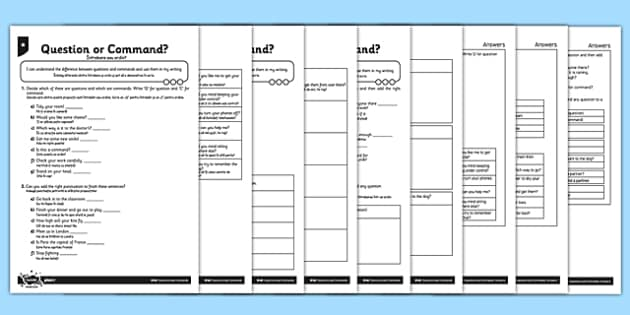 Question or Command? Differentiated Activity Sheets Romanian Translation - romanian, sentences, exclamation marks, question marks, command, bossy verbs, questions, worksheet