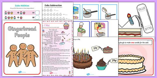 Cake Activity Resource Pack-Australia