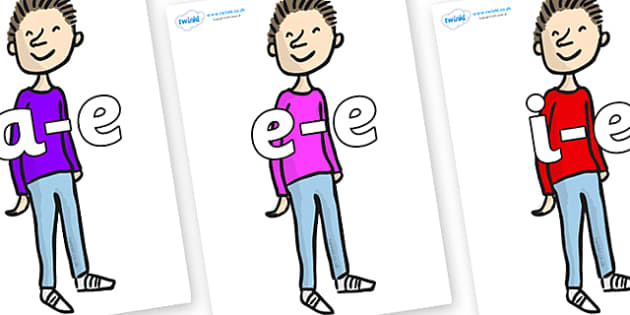 Modifying E Letters on Michael to Support Teaching on Matilda - Modifying E, letters, modify, Phase 5, Phase five, alternative spellings for phonemes, DfES letters and Sounds
