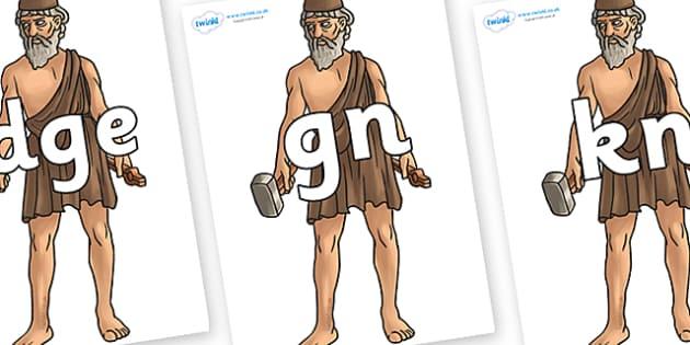 Silent Letters on Hephaestus - Silent Letters, silent letter, letter blend, consonant, consonants, digraph, trigraph, A-Z letters, literacy, alphabet, letters, alternative sounds