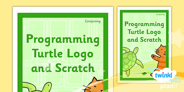 PlanIt - Computing Year 2 - Programming Turtle Logo and Scratch Unit Book Cover - planit, book cover, computing, year 2, programming turtle logo and scratch