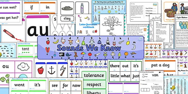 Teaching Assistant Phonics Intervention Pack - phonics pack, TA, literacy, phonics, letters and sounds