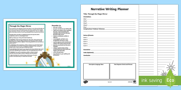 Year 5 Narrative Writing  Writing Activity Sheet-Australia